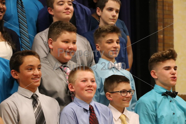 8th grade promotion mass . 5.25.17