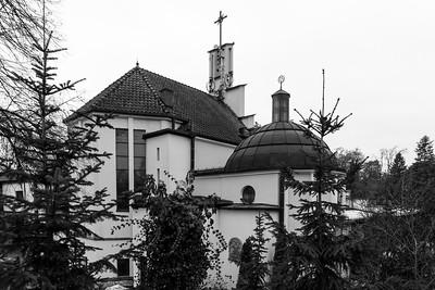 Kościółek od tyłu