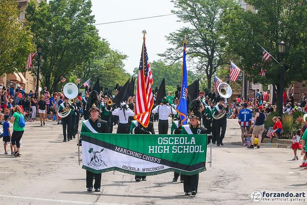 Osceola High School Marching Band