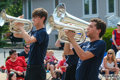Naperville North High School Band Celebrates Independence Day