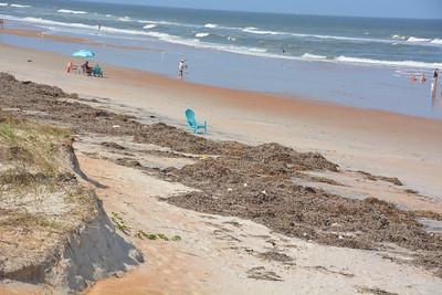 Ocean debris...