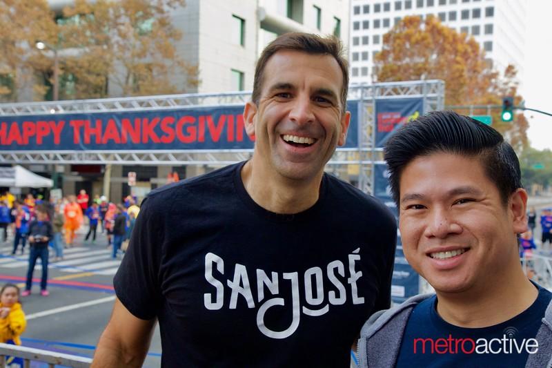 San Jose Mayor Sam Liccardoo