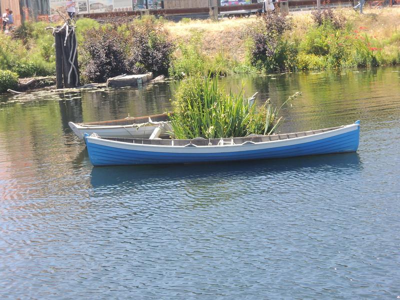 The Lake Oswego boat