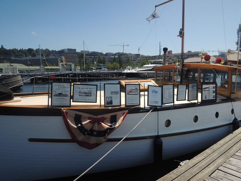 The Winifred is another Lake Union Dreamboat.