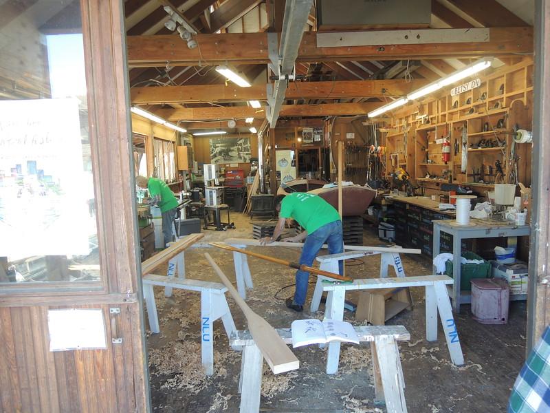 The CWB boatshop