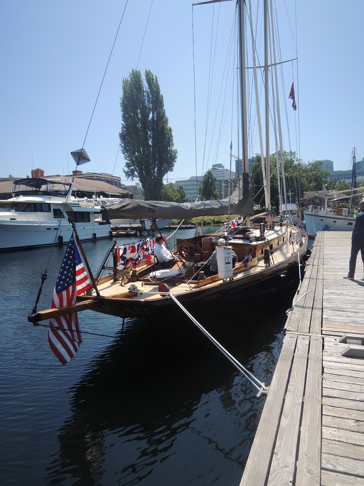 Designed by Chapelle, built by Blanchard, it's a classic from 1920.  <br /> <br /> I once saw this boat under sail near Point Defiance and it was like watching music move across the water.