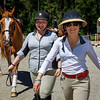 Exhibitors, trainers and staff enjoy competition and camaraderie at the Cascade Horse Shows 2017 Alpine Preview hunter jumper show held at the Washington State Horse Park, Cle Elum, WA.
