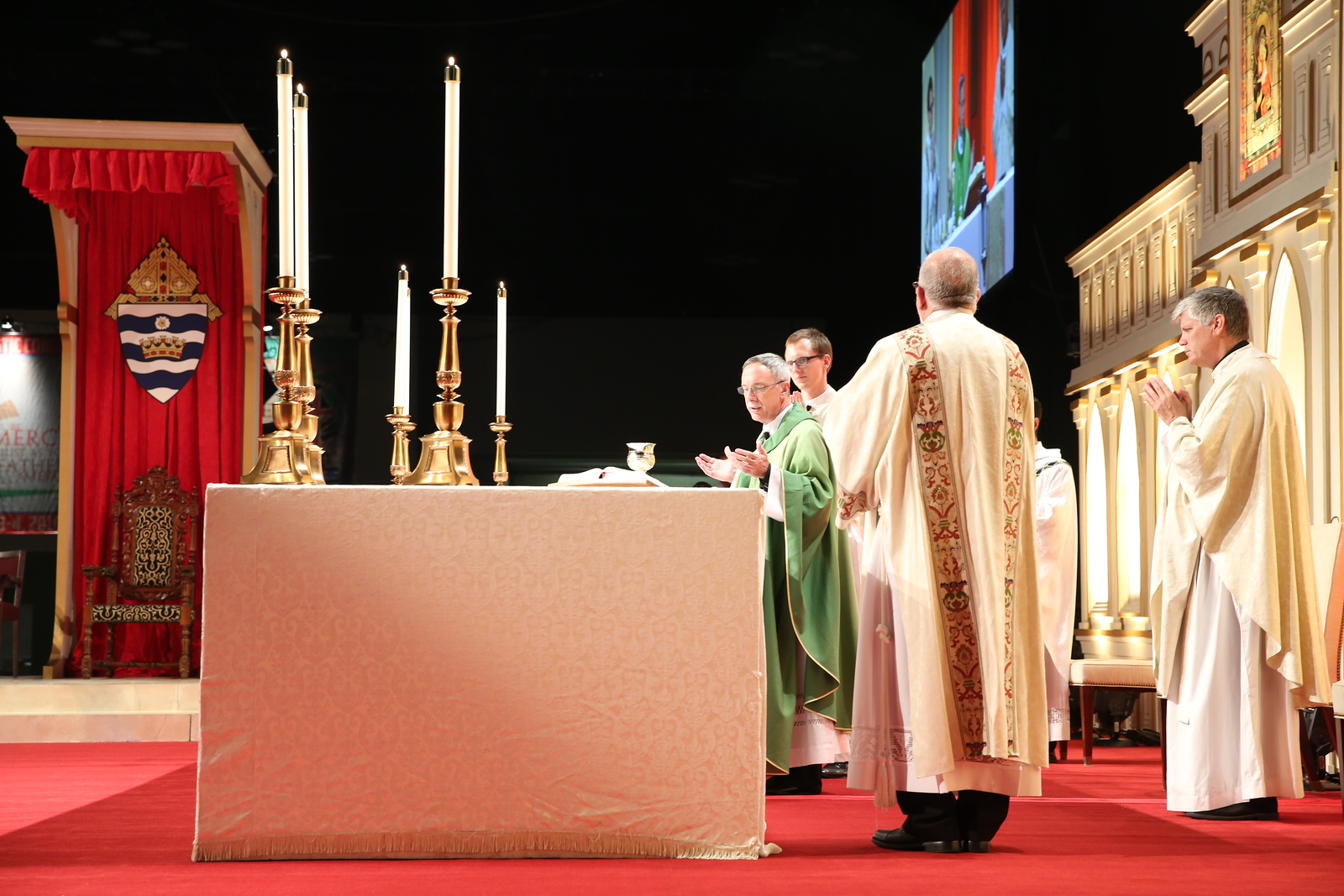 Opening Mass and Healing Service