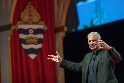 Father Larry Richards speaks in the English track Saturday afternoon about challenging Catholics in the faith to spend more time before the Blessed Sacrament.The Eucharistic Congress brought  together Catholics from across the archdiocese and the country to celebrate the visible, living presence of Jesus in the Eucharist on Friday June 16 and Saturday June 17, 2017 at the Georgia International Convention Center in College Park.  Approximately 30,000 Catholics attended this annual spiritual and multicultural celebration.   This conference featured workshops presented on tracks in five languages:  English, Spanish, American Sign Language, Vietnamese, and French. Some of this year's speakers include Brandon Vogt, Deacon Harold Burke-Sivers, Dr. Gianna Molla, Father Larry Richards, Fr. Michael E. Gaitley, MIC and Sister Jane Dominic Laurel, O.P. (Photo by Thomas Spink)