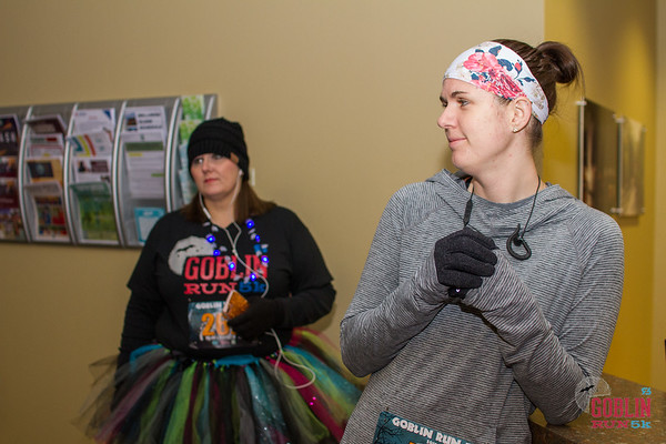 Despite the bitterly cold Saturday morning, Goblin 5k Runners came out the streets of downtown Bentonville dressed in their Halloween best with a morning full of running for all ages and even a finish line proposal.