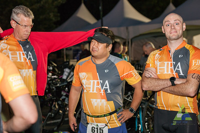 Day 2 of TriFest for MS kicked-off with the corporate relay and Sprint Triathlon at Memorial Park, Bentonville.