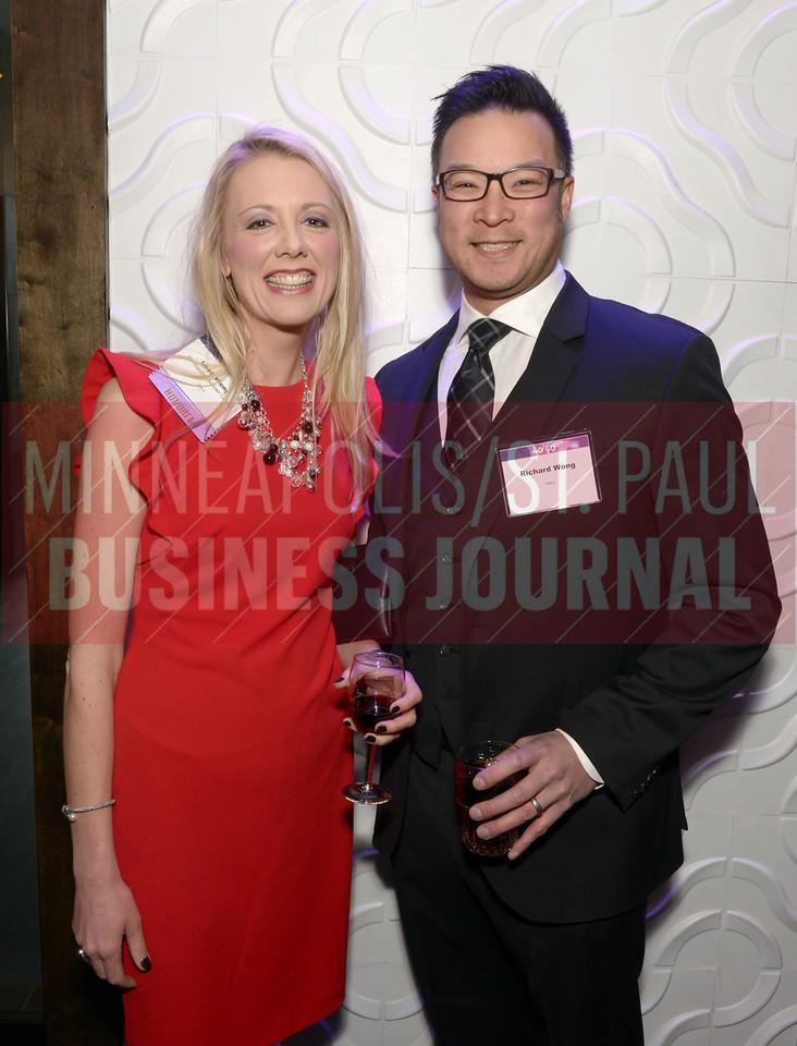 2017 40 Under 40 honoree Leah Wong and Richard Wong.