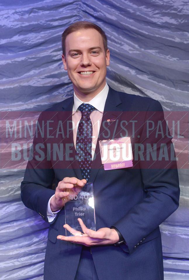 2017 40 Under 40 honoree Phillip Trier of U.S. Bank
