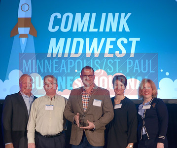 Comlink Midwest picked up an award for the Minneapolis/St. Paul Business Journal's number three fastest growing public company.