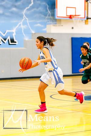 Girls Basketball vs Pioneer
