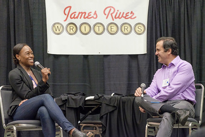 Margot Shetterly is the author of Hidden Figures.  Margot Shetterly gave an author talk at the 2017 James River Writers Conference at the Richmond Convention Center on October 14, 2017