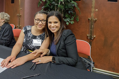 Chiquita DeJesus and Soledad O'Brien