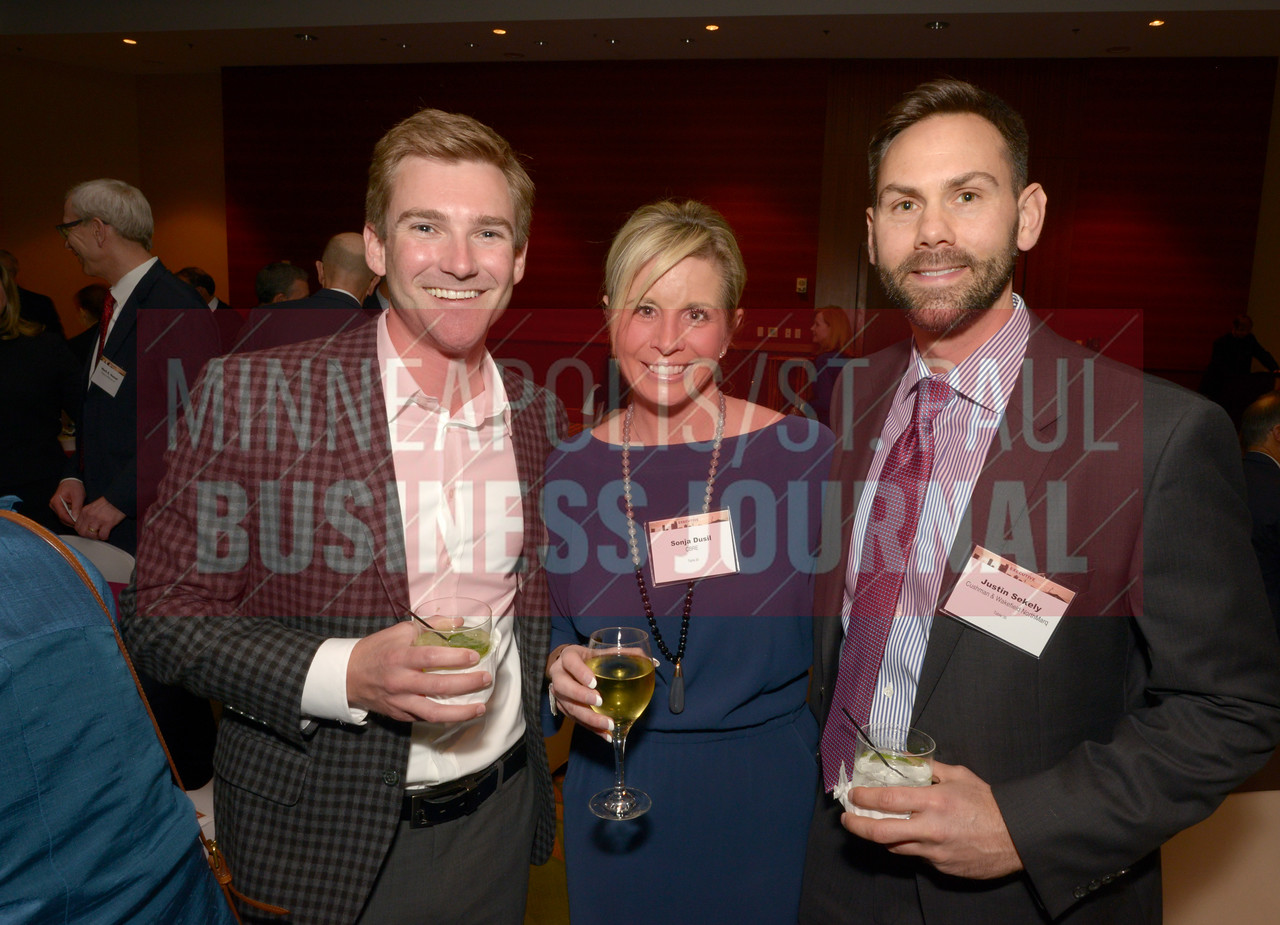 From left, Eric Ordway, Sonja Dusil and Justin Sekely