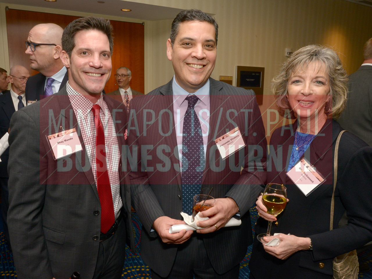 From left, Shay Mandle, Fernando Vivanco and Rita McConnell