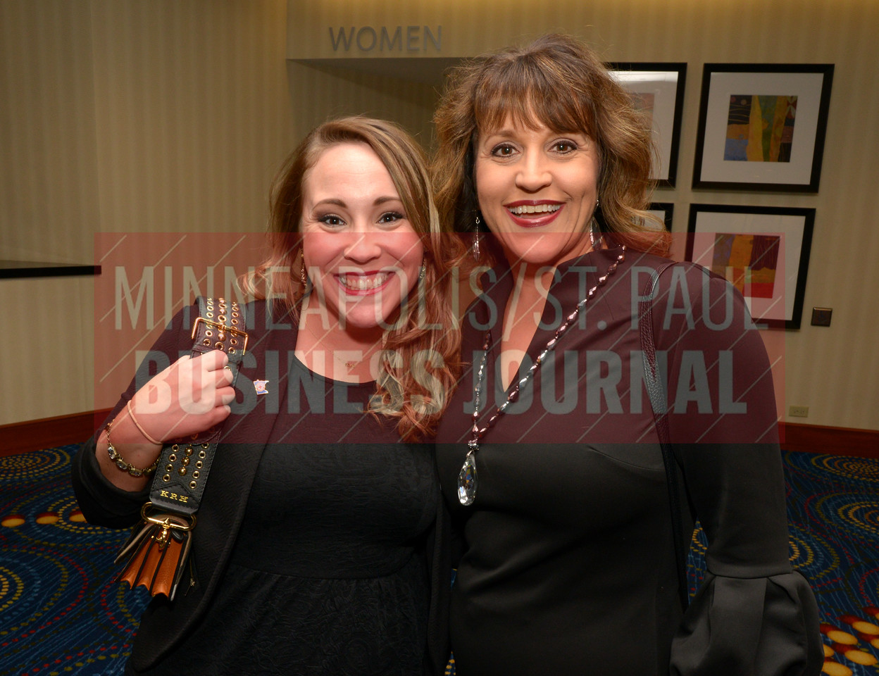 Kate Ross (left) and Joan Lovelette