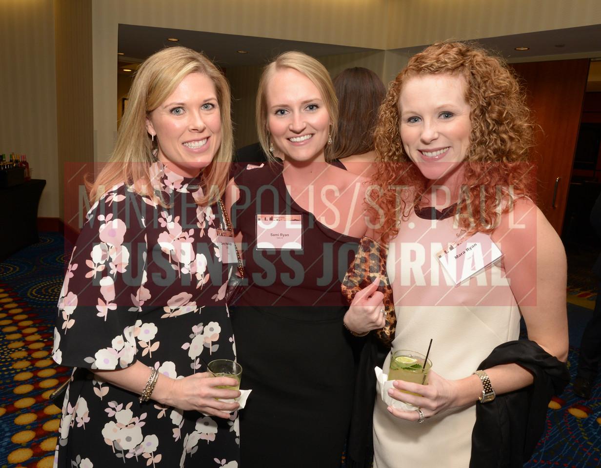 From left, Carey Hastings, Sami Ryan and Mara Ryan