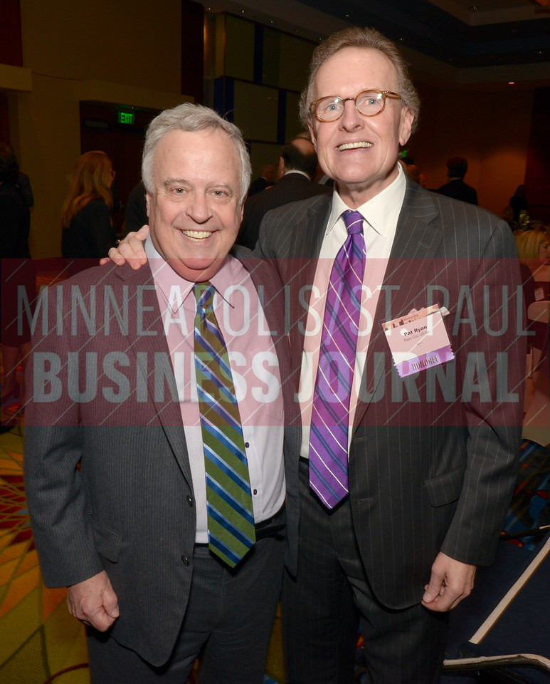 Russ Nelson (left) and Pat Ryan