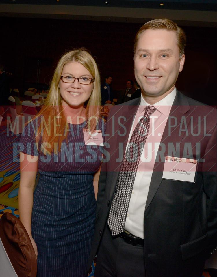 Sara Jaspers and David Yung of Barnes and Thornburg.