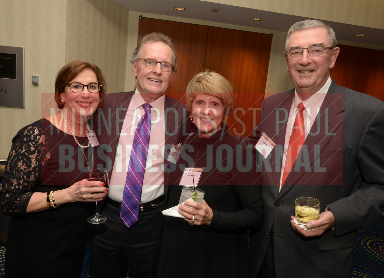 From left, Mary Mulvahill, Pat Ryan, Kris Holtz and Jack Rice
