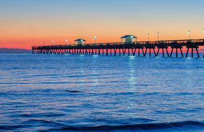 Blue Hour at Oceanview Pier