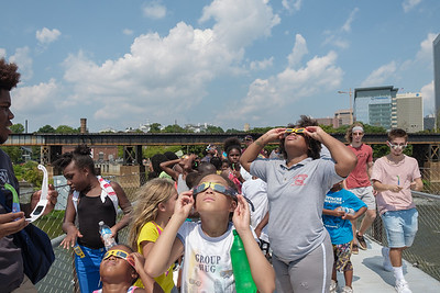 Viewing The Solar Eclipse