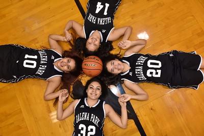 2017 Girls Basketball Seniors