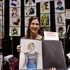 Artist Megan E. Risk