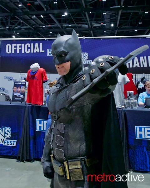 I'm Batman...