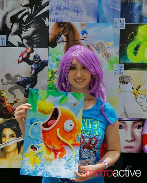 Artist Zhen Yue