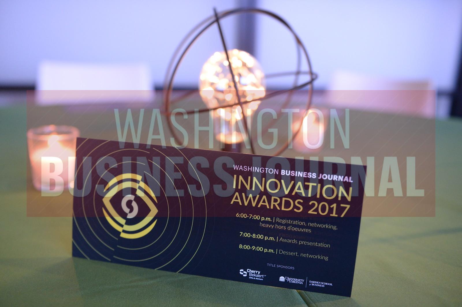 Washington Business Journal Innovation Awards 2017
