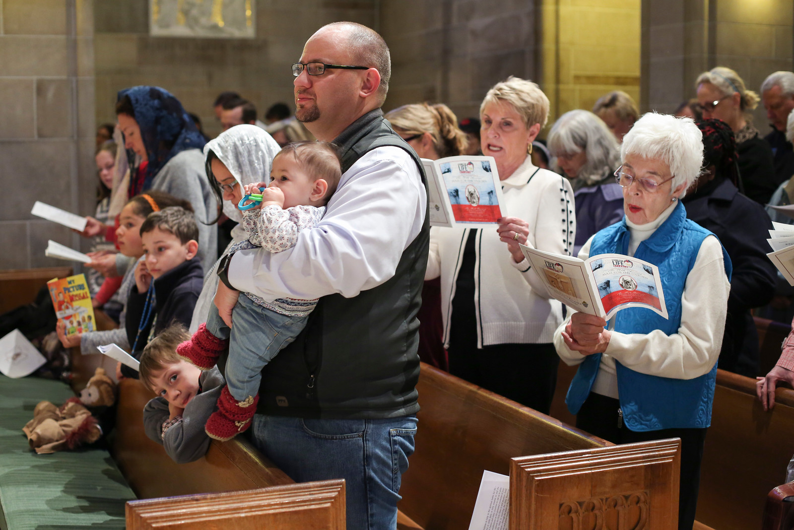 Mass for the Unborn/Stand for Life