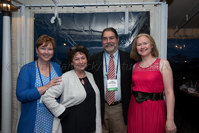 The Nantucket Book Festival Authors' Dinner at the White Elephant, June 16, 2017
