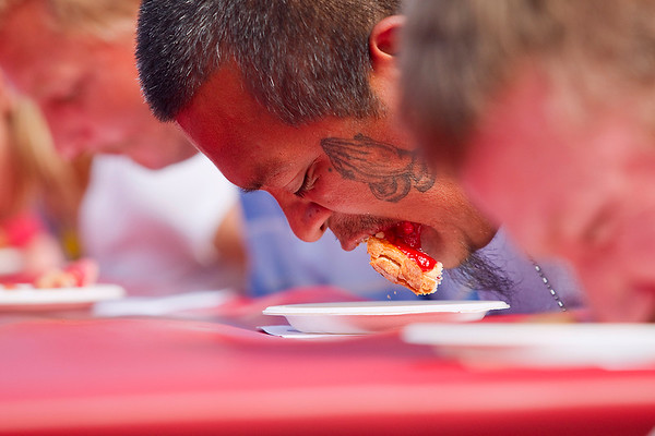 NCF CHERRY PIE EATING CONTEST