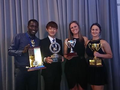2017 Womens and Mens B&F Winners