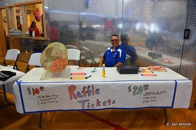Riverdale, ND Ambulance Squad annual fundraiser at Riverdale High Lodge - 7-15-17