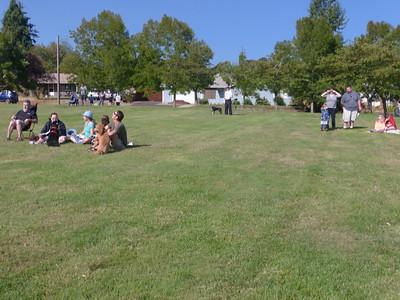 More people gathering