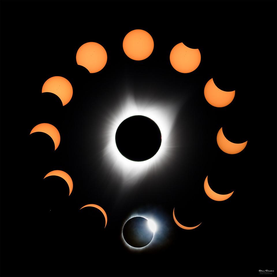 Total Eclipse Clock