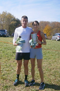 First Place Male and Female Runners!