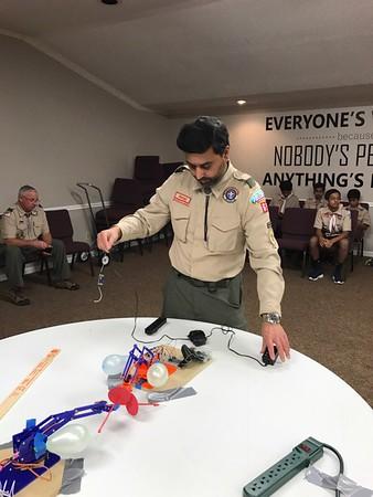 2017 Troop Meeting Photos
