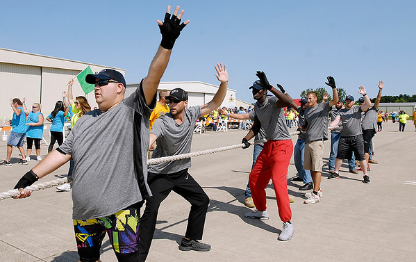 John P. Cleary    The Herald Bulletin<br /> United Way's 4th annual Human Truck Pull.