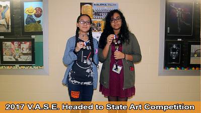 2017 V.A.S.E. Art Winners
