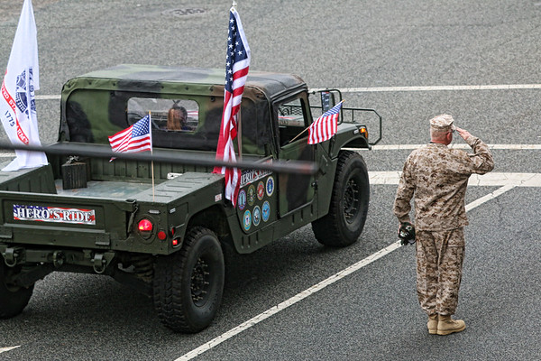 2017 Veterans Day Parade, High Point, NC