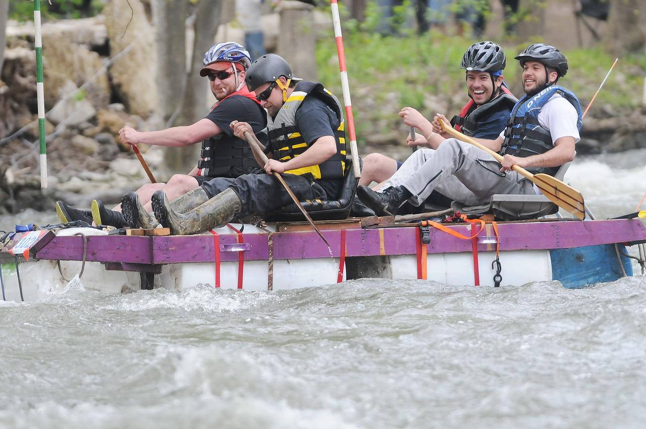 Wet and wild fun at the annual Wild Water Derby in Shortsville.