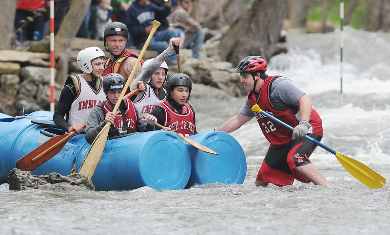 Wet and wild fun at the annual Wild Water Derby in Shortsville.