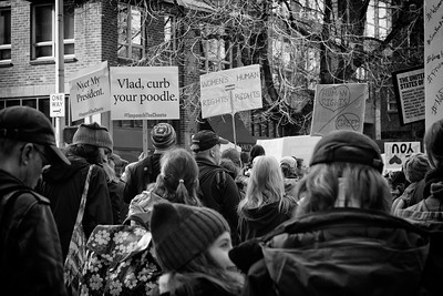 20170121.  Woman's march in Seattle WA.